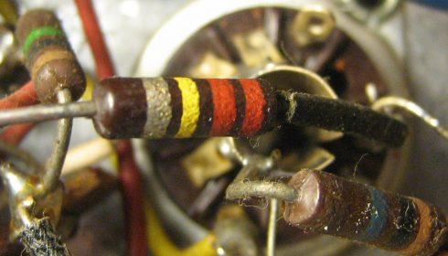 Carbon composite resistor.