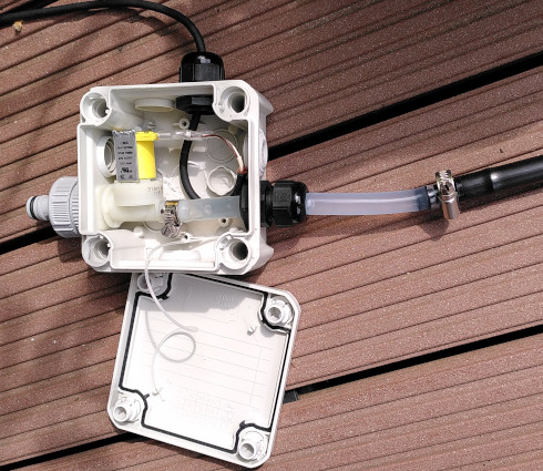 Watering system control box