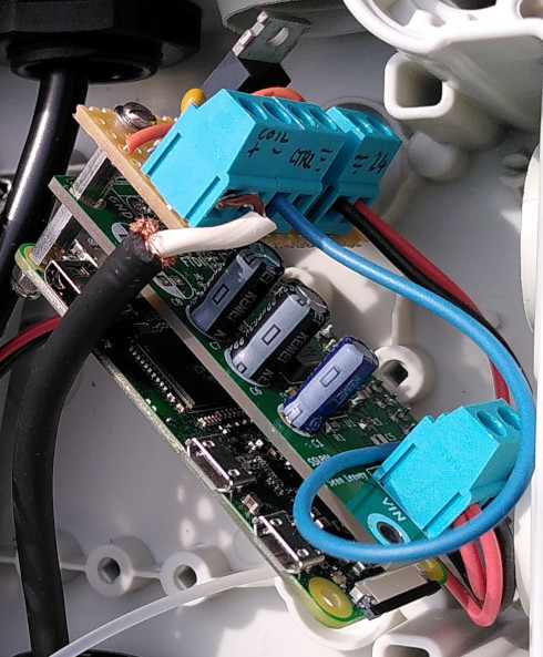 Raspberry Pi Zero, sslpol and valve solenoid driver strip board