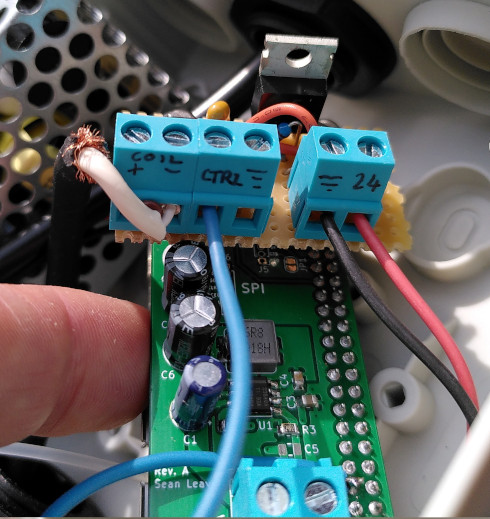 Watering system sslpol and valve solenoid driver boards